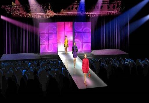 wynajem sceny pokaz mody podesty sceniczne
