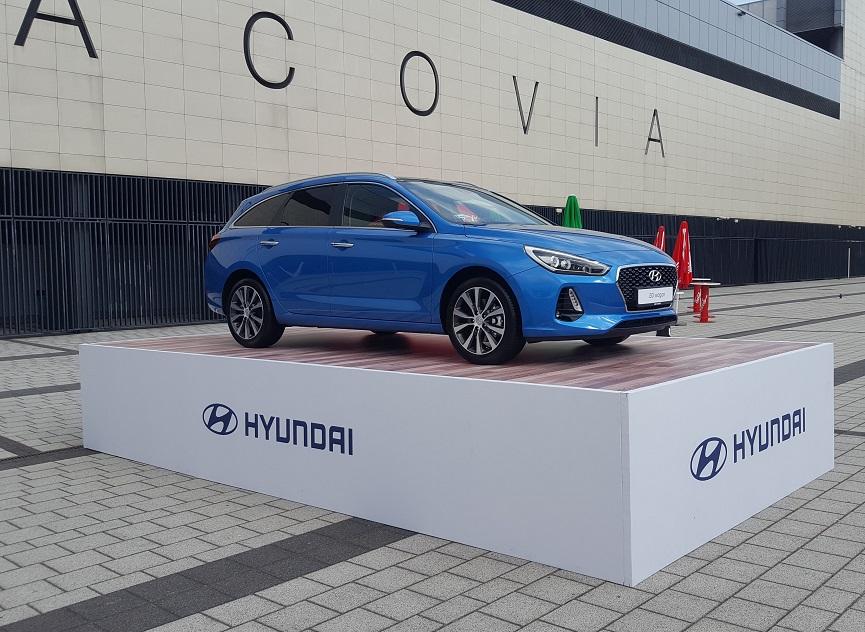 Wystawa samochodu Hyudai